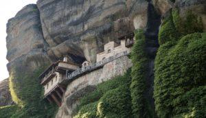 cave monastery in meteopra